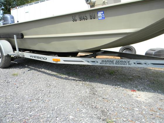 Marine Service, LLC - Wesco Boat Trailers